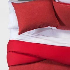 Linen-Blend Duvet Cover Set
